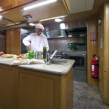 Lady Anastasia Yacht Galley