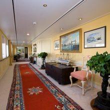 Leander G Yacht Corridor