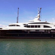 Vision Yacht Anchored