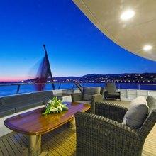 Sea Eagle Yacht Upper Aft Deck