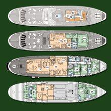 Ariete Primo Yacht Deck Plans