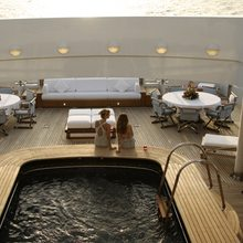 Golden Fleet Yacht Main Deck