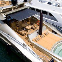 Bagheera Yacht Aft Deck