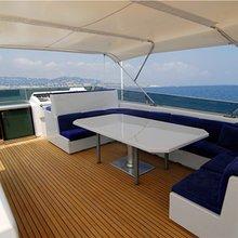 Providence Yacht Flybridge