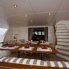 Corto Maltese Yacht Alfresco Dining Table