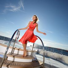Huntress Yacht Jacuzzi & Seating