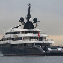 Seven Seas Yacht Rear View