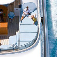 Ambition Yacht Sundeck details