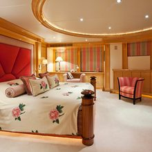 The Lady K Yacht Master Stateroom