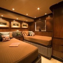 Mia Cara Yacht Guest Twin Stateroom