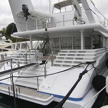 Lady Arraya Yacht Stern