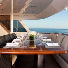 Bouchon Yacht Main Aft Deck
