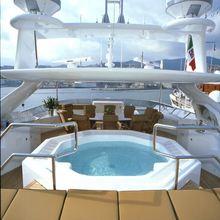 The Lady K Yacht Jacuzzi