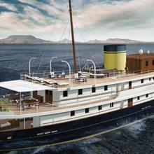 Classic 57m Yacht