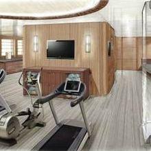 Seven Seas Yacht Artist's Impression - Gymnasium