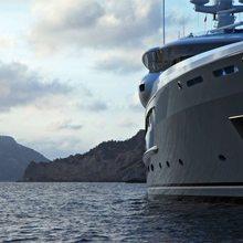 Ventum Maris Yacht Low Front View