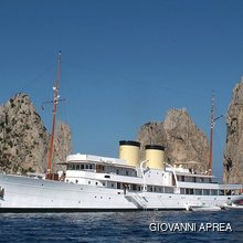 Talitha Yacht Profile - At Anchor