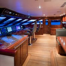No Comment Yacht Pilothouse