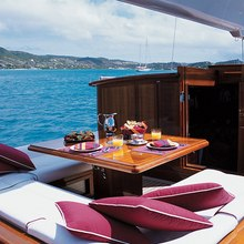 Ranger Yacht Cockpit Dining