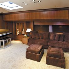 Ethereal Yacht Lower Salon Library