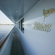 Il Sole Yacht Side deck