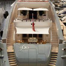 Lady MM Yacht Stern