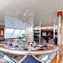 Ligaya Yacht Exterior Dining