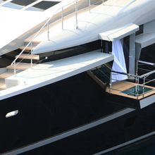 Nonni II Yacht Balcony