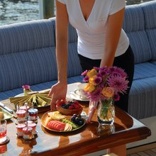 You & Me Yacht Dining Detail