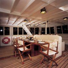 Elsa Yacht Dining Area