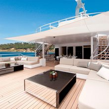 Mogambo Yacht Upper Deck