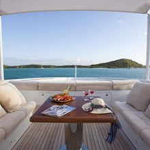 Blind Date Yacht Exterior Seating