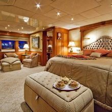 Lady Anastasia Yacht Master Stateroom