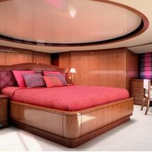 Checkmate Yacht Artist's Impression - Master Stateroom