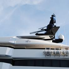 Seven Seas Yacht Side View - Detail