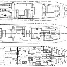 Providence Yacht Deck Plans