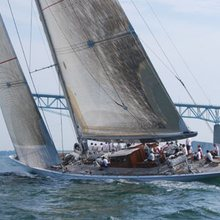 Ranger Yacht On regatta
