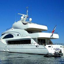 Slo Mo Shun Yacht Rear Profile