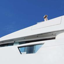 Ice Angel Yacht Exterior Detail