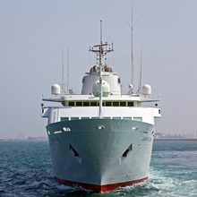 Al Mabrukah Yacht Bow