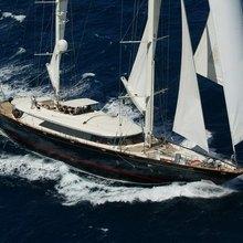 Silencio Yacht Aerial Shot