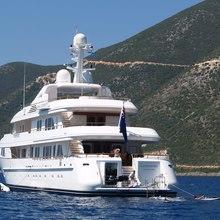 Ambition Yacht Stern