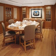 Is A Rose Yacht Dining Salon