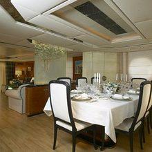 Grand Mariana II Yacht Dining Salon
