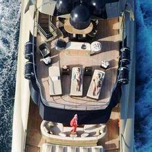Hokulani Yacht Aerial - Sundeck