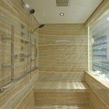 Huntress Yacht Shower Room