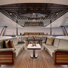 Kokomo III Yacht Cockpit