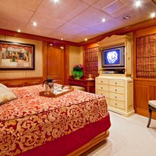 Lady Anastasia Yacht Red Guest Stateroom