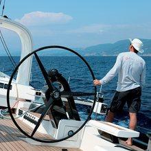 Yam 2 Yacht Wheel