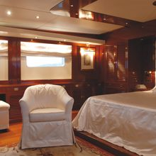 Ariete Primo Yacht Master Stateroom - Seating